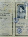 Pass des Deutschen Reichs von Kurt Berneis / Kurt Berneis's German passport