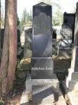 Grabstein Bettchen Katz - Jüdischer Friedhof Biebrich / Bettchen Katz's gravestone –Jewish cemetery, Biebrich